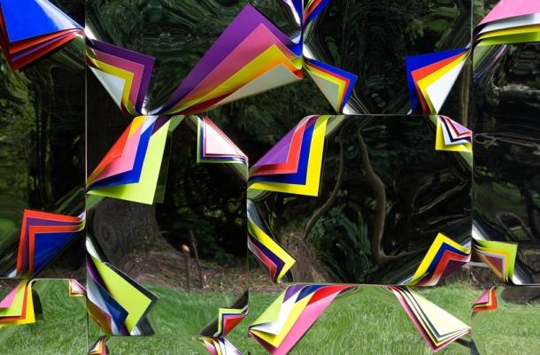 Culture Vulture: Jim Lambie Sculpture A Forest, Jupiter Artland, Scotland, An Art Lovers Dream Byte Size Scotland