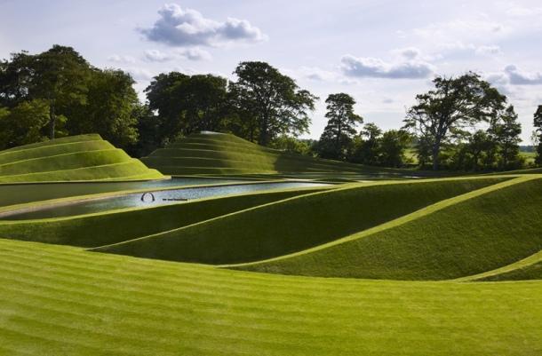 Culture Vulture: Charles Jencks Sculpture Cells of Life, Jupiter Artland, Scotland. An Art Lovers Dream Byte Size Scotland