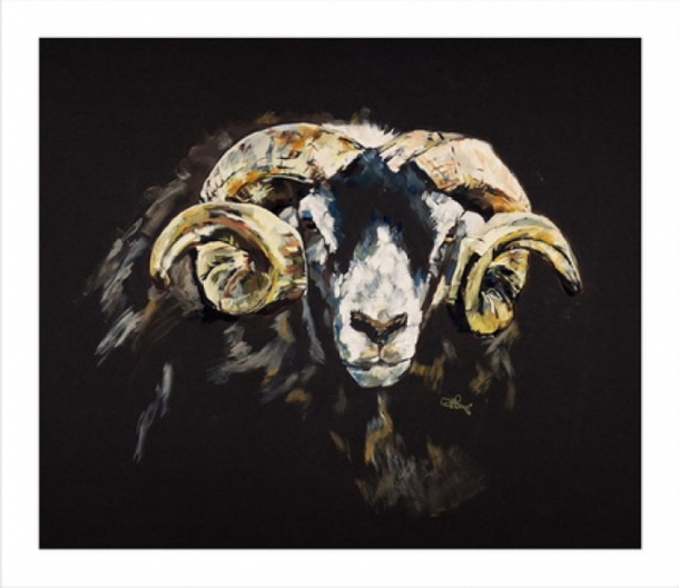 Painting by Helen Ryman Spring Fling 2013