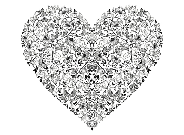 Johanna Basford Heartbreak Illustration