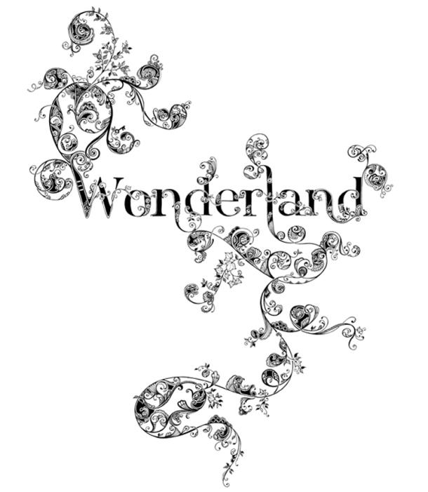 Johanna Basford Wonderland Illustration