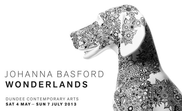 Johanna Basford Wonderlands Exhibition Dundee Contemporary Arts